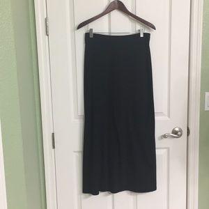 Perfect Long Black Skirt